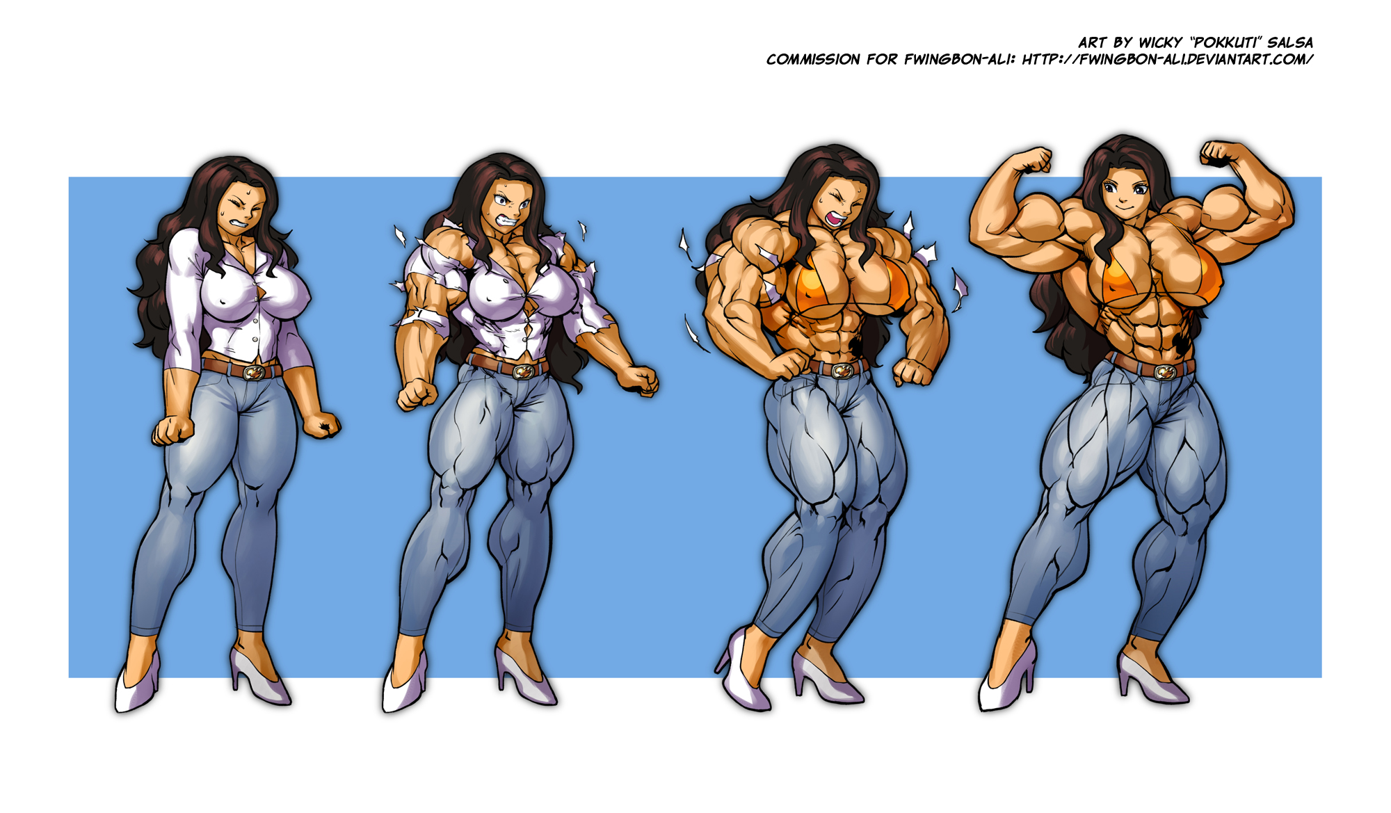 Share female muscle domination stories consider