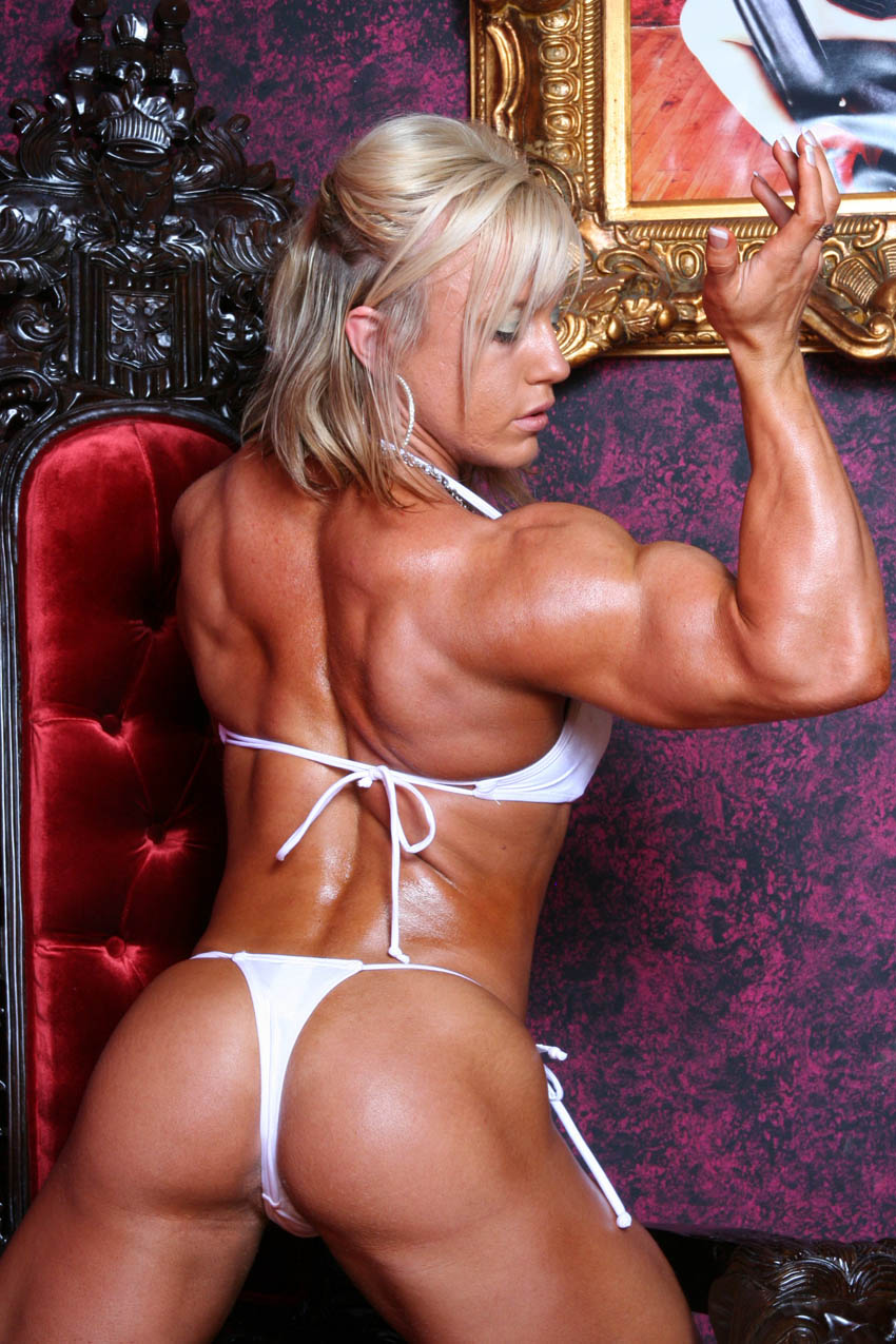 Female bodybuilder fetish