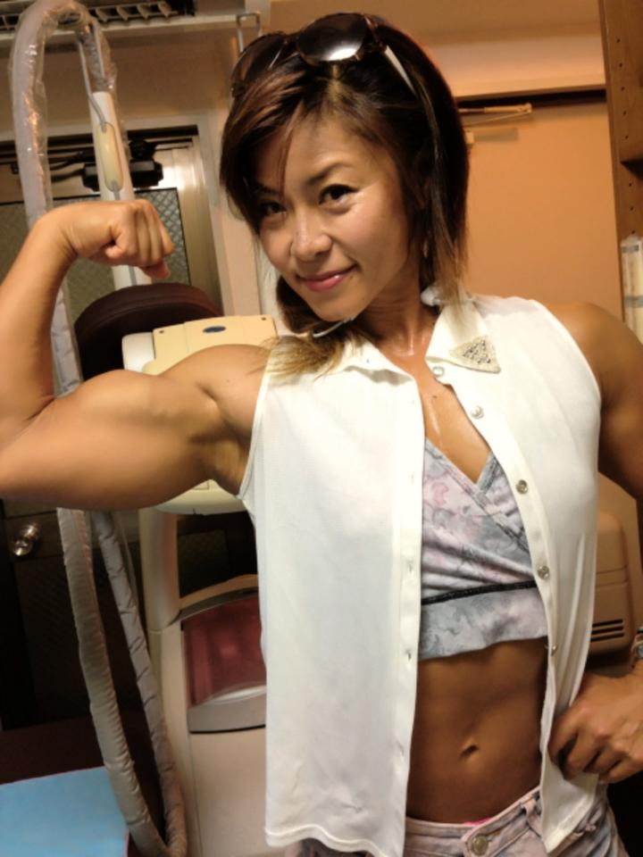 mature muscle girl