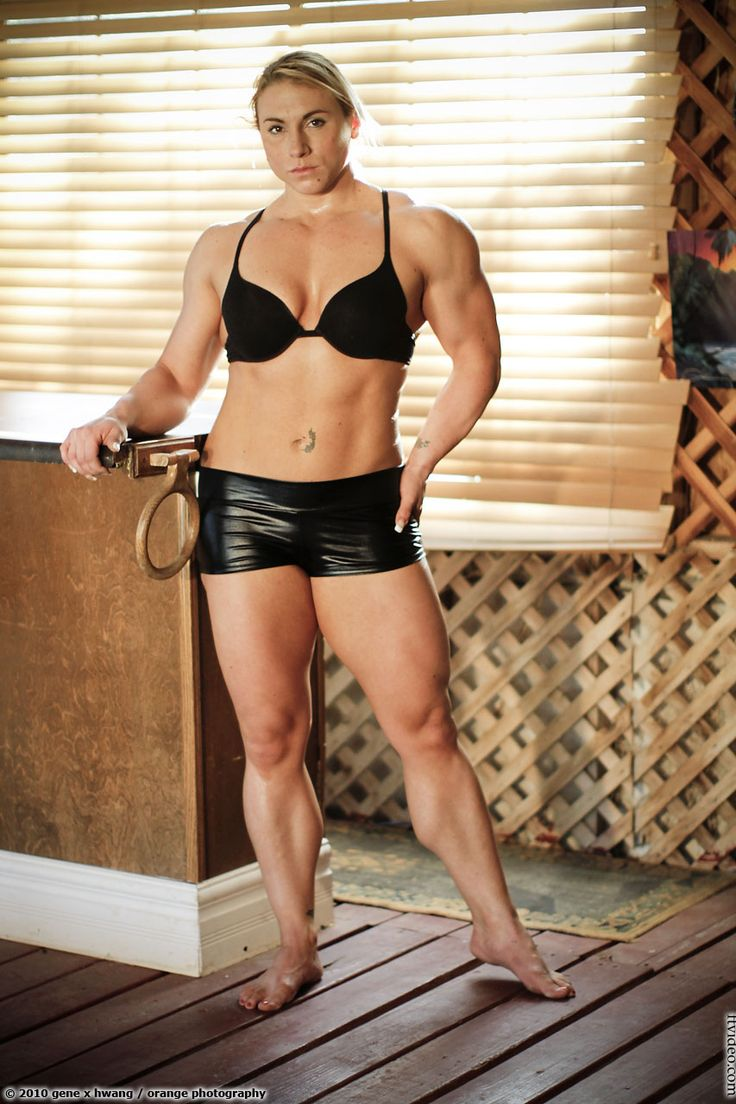 Hand Domination Muscular Women 73