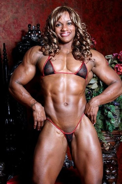 Ebony Women Muscle