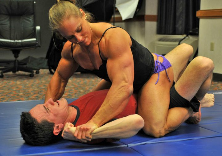 Nude Couple Vs Couple Wrestling - Couple-3485
