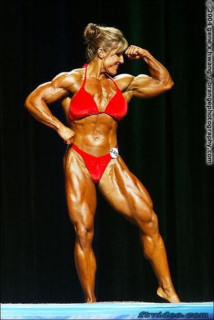 Sexy gina davis bodybuilder having sex