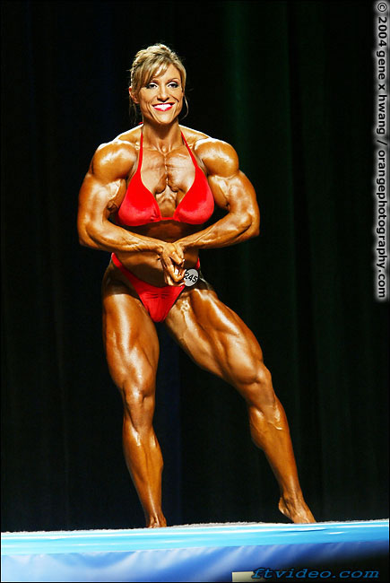 Female muscle growth 2019