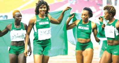 aOkagbare-and-Nigeria-4x100m-womens-team