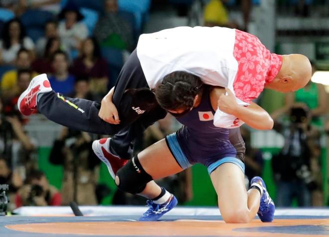AP RIO OLYMPICS WRESTLING WOMEN S OLY BRA