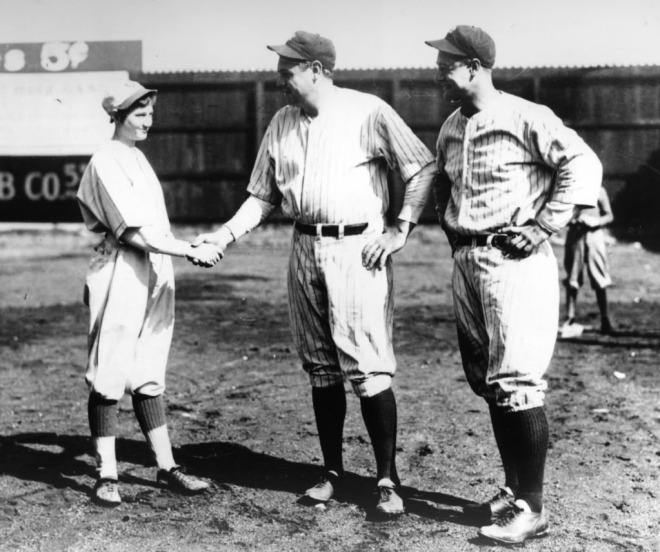 jackie-mitchell-shaking-hands-with-babe-ruth