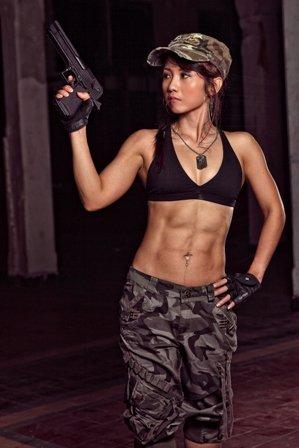 army-woman
