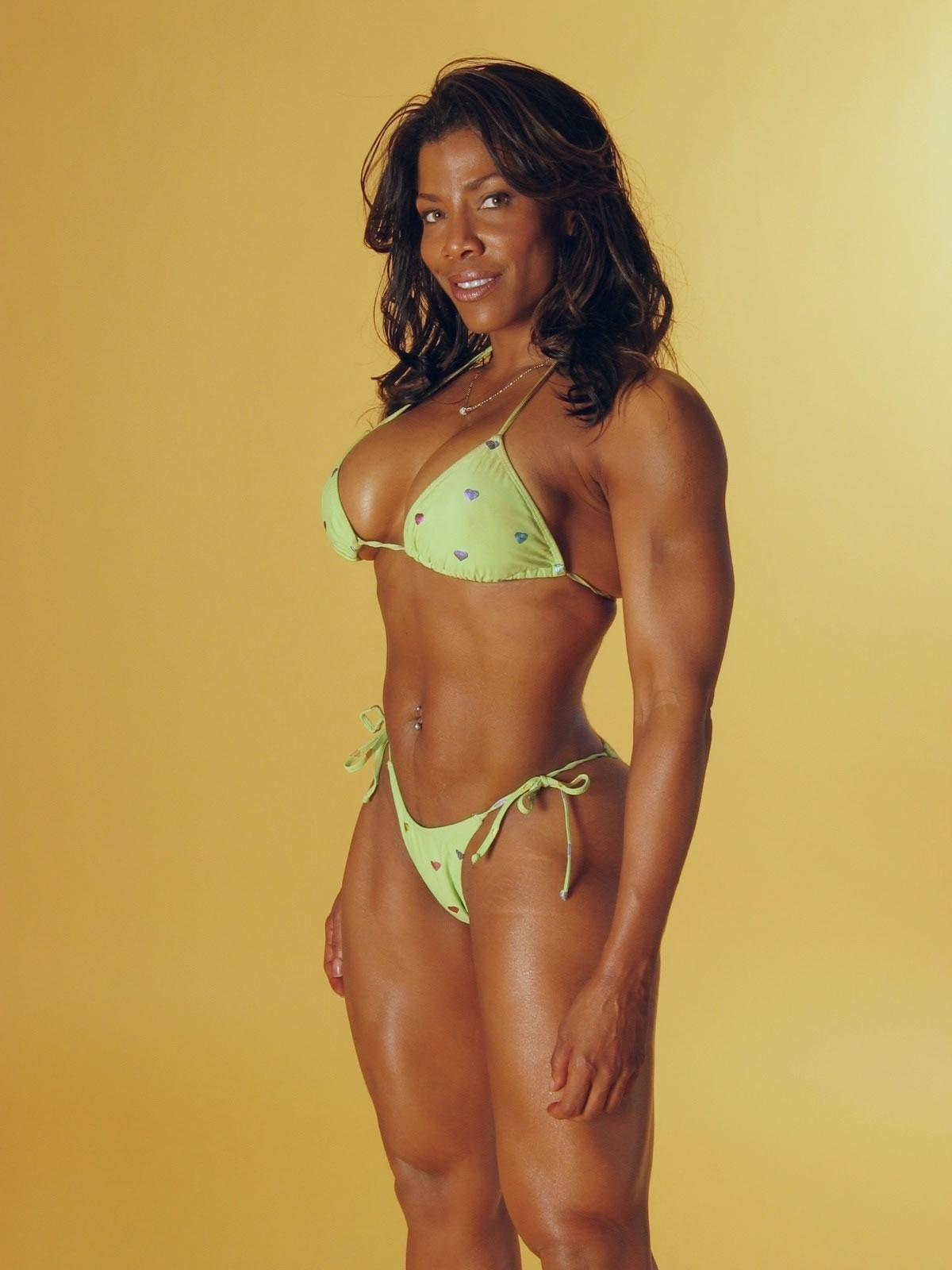 Black ebony muscle