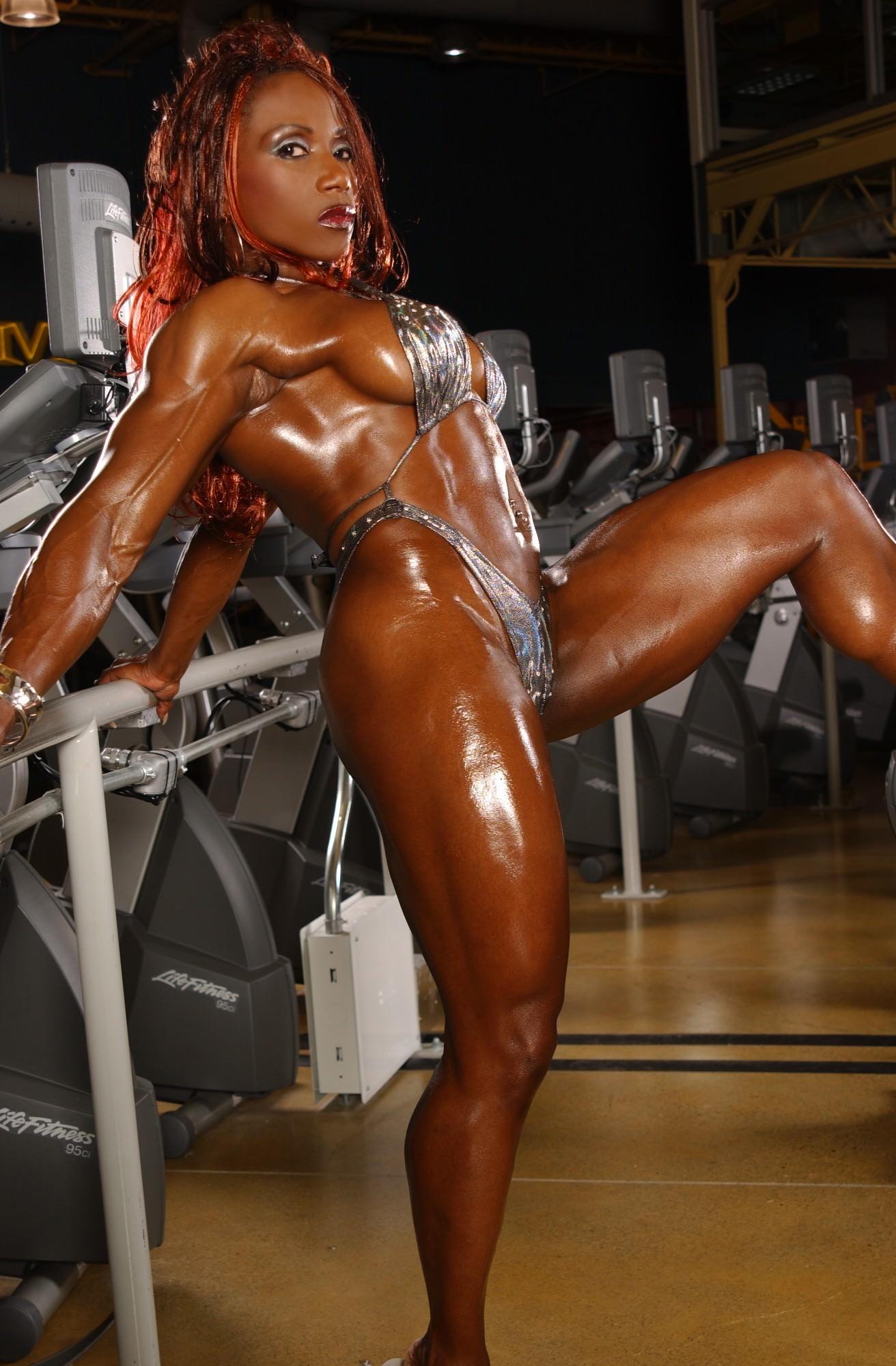 muscular black woman fuck