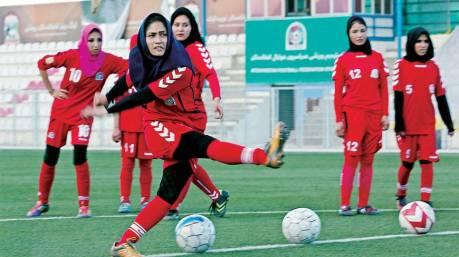 Afghan women's soccer