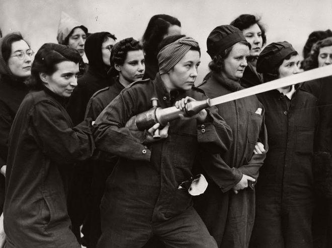 British Women volunteers
