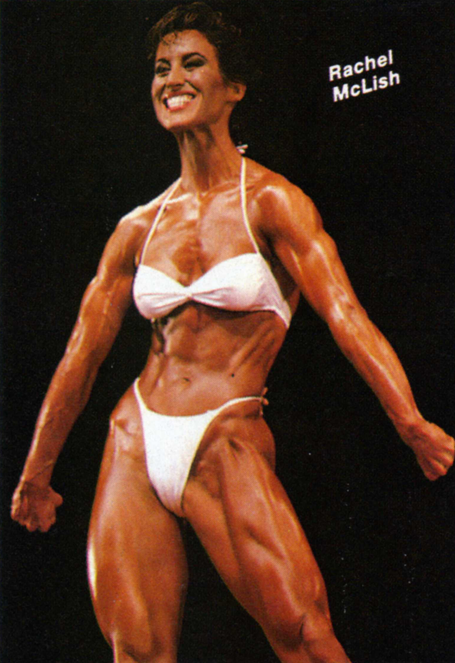 Mature female bodybuilder
