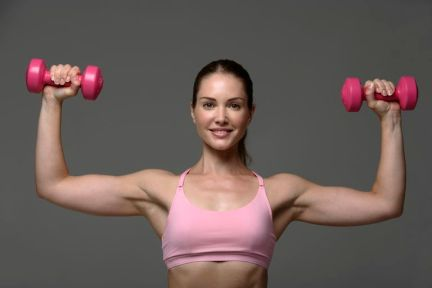 weights and women