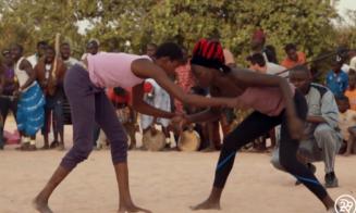 Senegalese Westlers