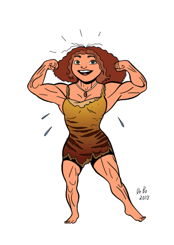 eep_from_the_croods___muscular_fan_art___colors_by_doctorbo-d6qwehn