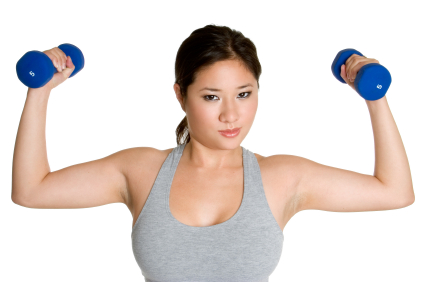 weight-training-asian-lady