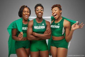 Nigeria's women bobsled