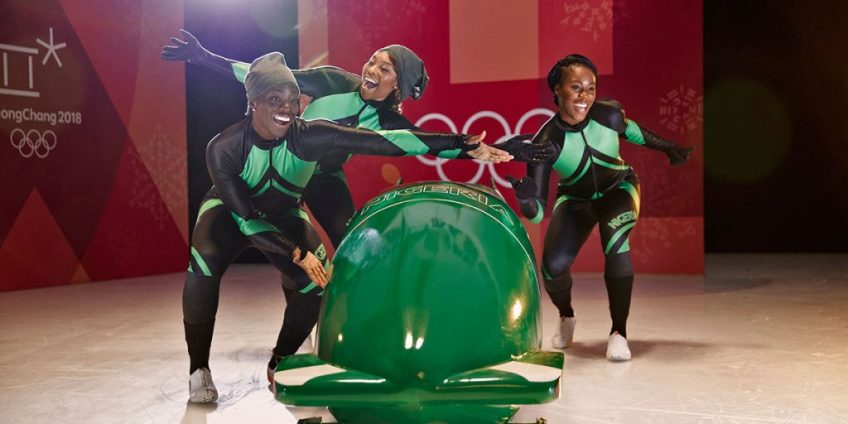 Nigerian women's bobsled team
