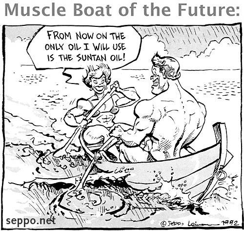Muscle Boat of the Future