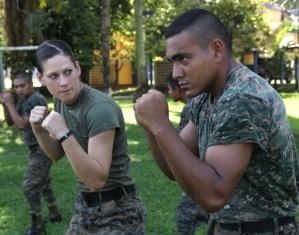 Army woman
