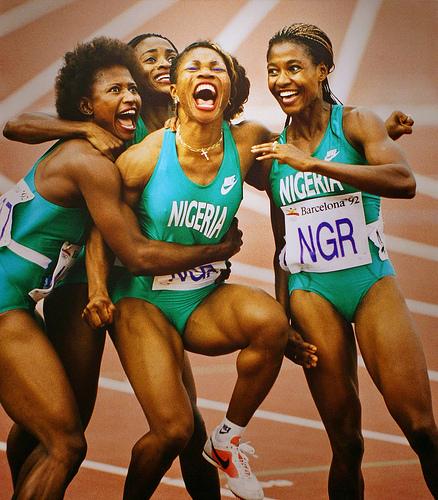 Nigerian runners