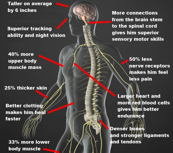 Men's physical aspects