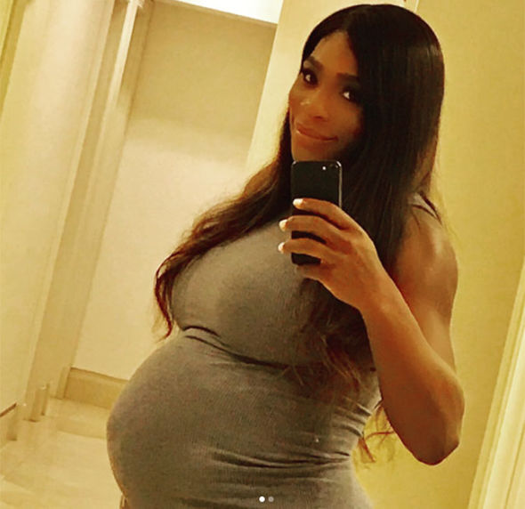 Serena-Williams-pregnant-baby-life-threatening-blood-clots-fiance-age-net-worth-1034357