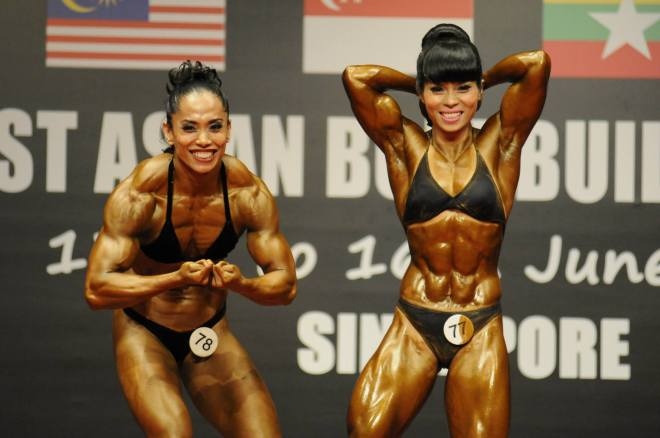 Muscle ladies