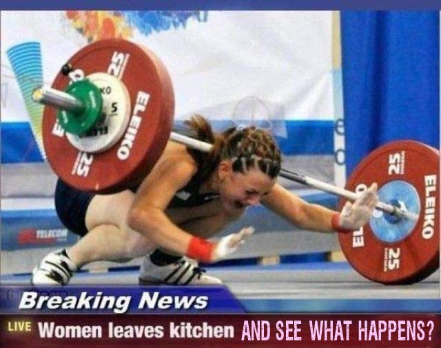 woman-leaves-kitchen-weight-lifter1